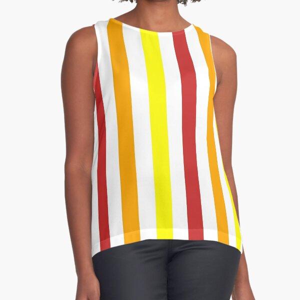 Jolly Stripes Sleeveless Top
