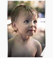 Portrait of a Toddler Poster