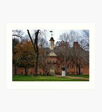 William and Mary Art Print
