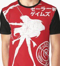 The Senshi Games: Mars ALT version Graphic T-Shirt