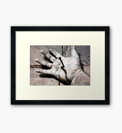 Look To The Future Now Framed Print