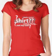 Drunken Deductions Women's Fitted Scoop T-Shirt