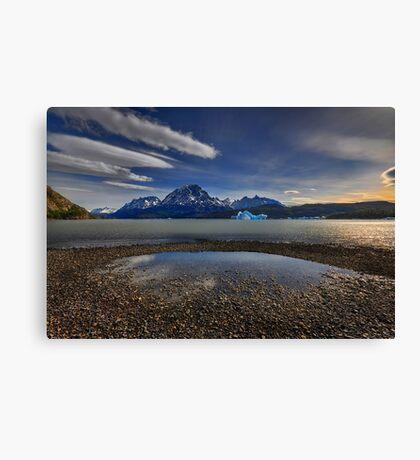 Laguna Grey Canvas Print