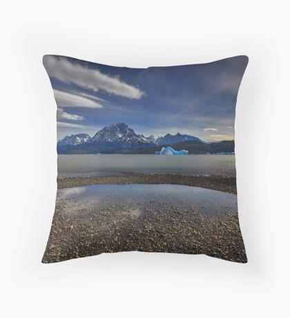 Laguna Grey Throw Pillow