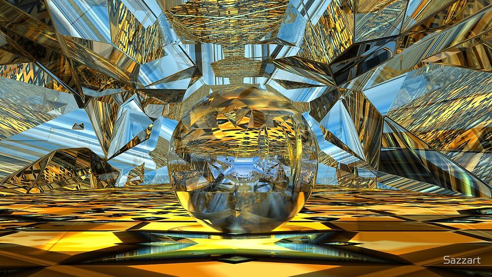 Crystalline Spelunking2 by Sazzart