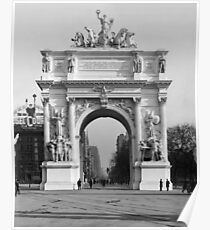 Vintage Dewey Arch Photograph (1900) Poster