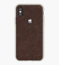 Leather with Metal Apple iPhone Case