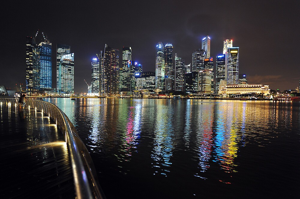 Marina Bay, Singapore. (3) by Ralph de Zilva