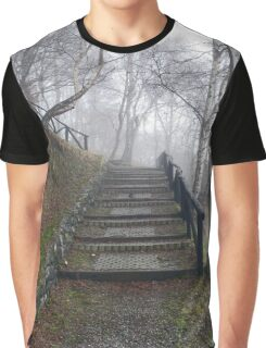 Forest stairs Graphic T-Shirt