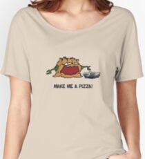 Arno the Tree Troll at Pizza Pass Women's Relaxed Fit T-Shirt
