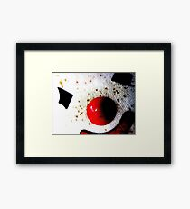 Clowns arent Scarey Framed Print