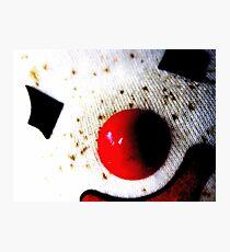 Clowns arent Scarey Photographic Print