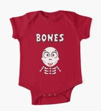 Halloween Fun Games - Bones One Piece - Short Sleeve