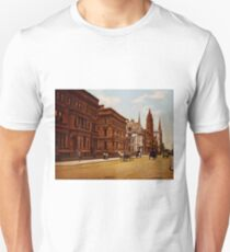 Camiseta ajustada Vintage Fifth Avenue NYC Photo-Print (1900)