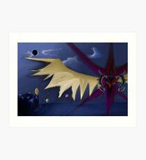 Zodiark-The Last Eclipse Art Print