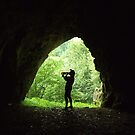 A drink in a cave by Cosmin Roszkos
