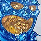 Strange Evil Graffity Creature by yurix