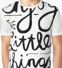Enjoy The Little Things Graphic T-Shirt