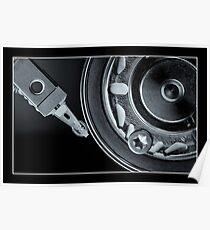 Disk Drive Internals 1 Poster