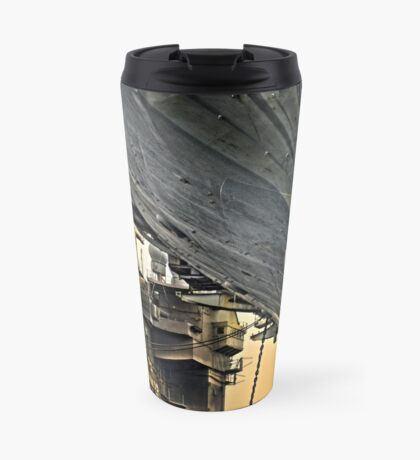 Super structure USS Kitty Hawk Travel Mug