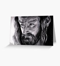 Richard Armitage - Thorin Oakenshield Greeting Card
