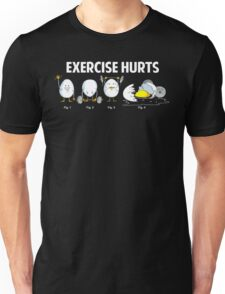 Exercise Hurts | Funny Workout T-Shirt