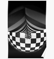 Stripy tights  Poster
