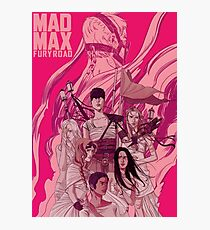 Mad Max Fury Road Photographic Print