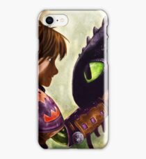 How to Train Your Dragon - Hiccup and Toothless iPhone Case/Skin