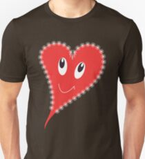 Smiling heart Unisex T-Shirt