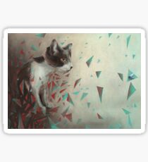 Kitten on the hunt. Sticker