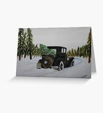 Home Bound Greeting Card