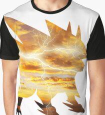 Mega Manectric Thunder Wave Graphic T-Shirt