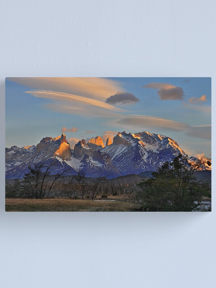 Alternate view of Sunset In Torres del Paine #2 Canvas Print