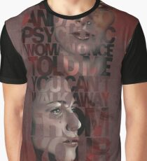 You Can't Walk Away From Your Truth Graphic T-Shirt