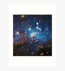 Star Forming Region LH 95 in the Large Magellanic Cloud Art Print