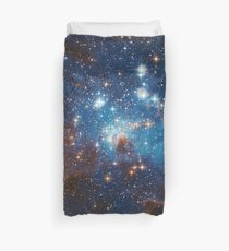 Star Forming Region LH 95 in the Large Magellanic Cloud Duvet Cover
