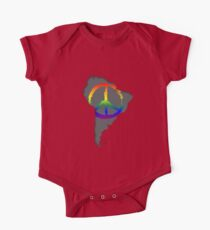 Peace in South America T-Shirt One Piece - Short Sleeve