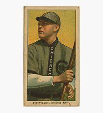 Benjamin K Edwards Collection Harry Steinfeldt Chicago Cubs baseball card portrait Photographic Print