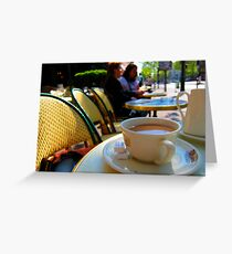coffee at the select Greeting Card