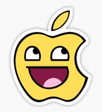 Happy apple Sticker