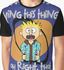 Who's Flying This Thing?! Graphic T-Shirt
