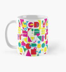 Graphic Alphabet Mug