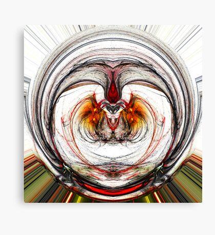 Radial Chaos Canvas Print