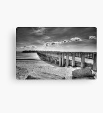 Powder Point Bridge Canvas Print