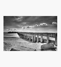 Powder Point Bridge Photographic Print