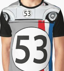 VW Beetle Herbie Graphic T-Shirt