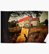 St Johns Anglican Church, Franklin, Tasmania #2 Poster