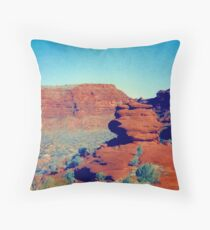 The Ampitheatre Palm Valley Throw Pillow