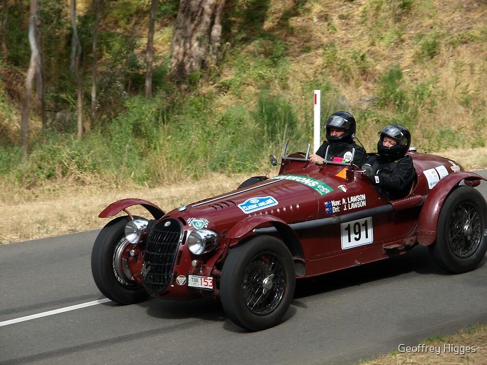 1938 Alfa Romeo by Geoffrey Higges